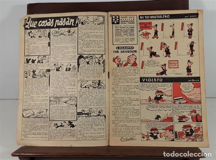 Tebeos: REVISTA JUVENIL DDT. 8 EJEM. EDIT. BRUGUERA. BARCELONA. 1953/1974. - Foto 6 - 161746158
