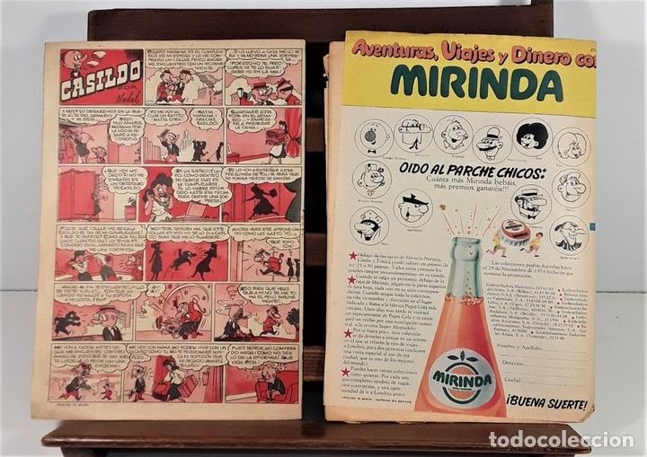 Tebeos: REVISTA JUVENIL DDT. 8 EJEM. EDIT. BRUGUERA. BARCELONA. 1953/1974. - Foto 10 - 161746158