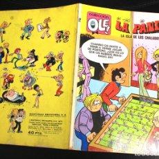 Tebeos: LA PANDA. LA ISLA DE LOS CHALADOS. 1ª EDICION. 1973. Nº 72 EN LOMERA.. Lote 161779230
