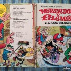 Tebeos: ASES DEL HUMOR N° 6: LA CAZA DEL CACO (PRIMERA EDICION) - IBAÑEZ (BRUGUERA 1971). Lote 161875162