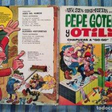 Tebeos: ALEGRES HISTORIETAS N° 2: PEPE GOTERA Y OTILIO CHAPUZAS A GOGO (1° EDICION) - IBAÑEZ (BRUGUERA 1971). Lote 161877074