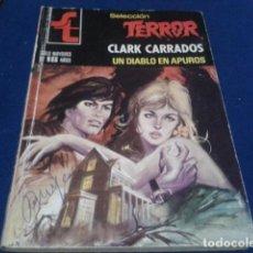 Tebeos: NOVELA PULP BOLSILIBRO EDICIONES B - CLARK CARRADOS (UN DIABLO EN APUROS ) Nº 347 SELECCION TERROR. Lote 161948090