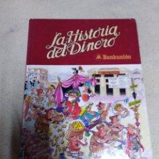 Tebeos: MORTADELA Y FILEMON, LA HISTORIA DEL DINERO DE BANKUNION 1980. Lote 162110648