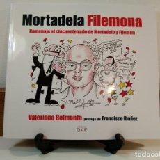 Tebeos: MORTADELA FILEMONA. HOMENAJE AL CINCUENTENARIO DE MORTADELO Y FILEMÓN. BELMONTE, VALERIANO. ALBACETE. Lote 162114014