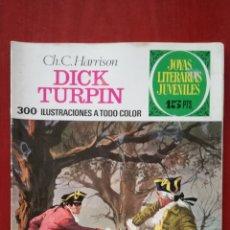 Tebeos: JOYAS LITERARIAS JUVENILES N°38 DICK TURPIN. Lote 162149505