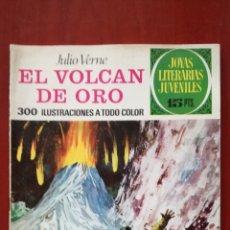 Tebeos: JOYAS LITERARIAS JUVENILES N°79 EL VOLCAN DE ORO. Lote 162150162