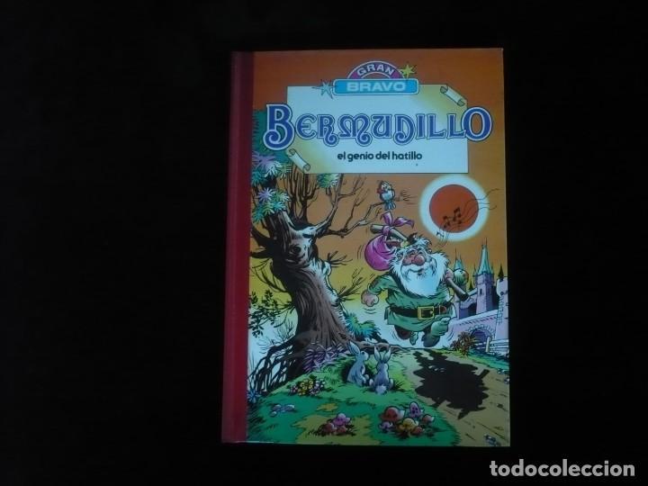 BERMUDILLO EL GENIO DEL HATILLO GRAN BRAVO OBRA COMPLETA 1ª EDICION SETIEMBRE 1982 EXCELENTE ESTADO (Tebeos y Comics - Bruguera - Bravo)