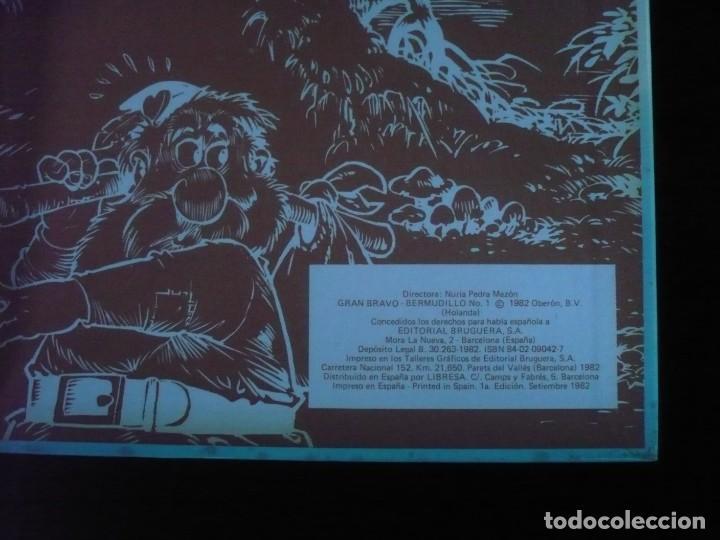 Tebeos: bermudillo el genio del hatillo gran bravo obra completa 1ª edicion setiembre 1982 excelente estado - Foto 7 - 162293094
