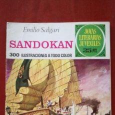 Tebeos: JOYAS LITERARIAS JUVENILES N°52 SANDOKAN. Lote 162339281