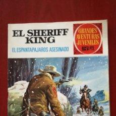 Tebeos: GRANDES AVENTURAS JUVENILES N°40 EL SHERIFF KING. Lote 162348565