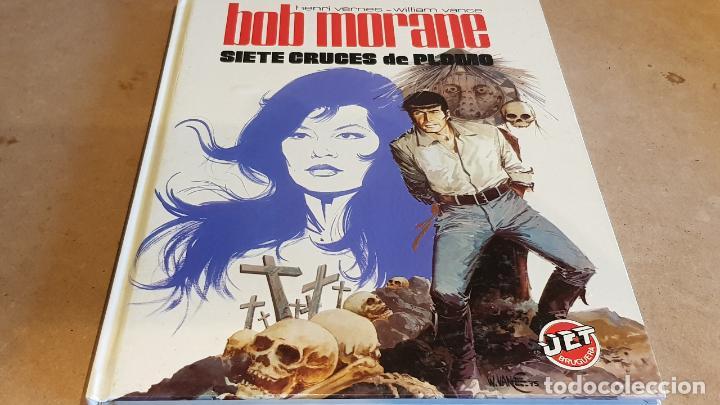 BOB MORANE / SIETE CRUCES DE PLOMO / HENRI VERNES-W. VANCE / ED: BRUGUERA / 1ª EDICIÓN. (Tebeos y Comics - Bruguera - Otros)