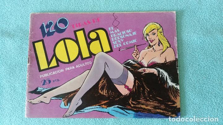 120 TIRAS DE LOLA Nº 5 - BRUGUERA (Tebeos y Comics - Bruguera - Otros)