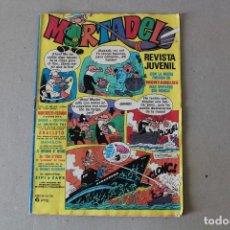 Tebeos: MORTADELO REVISTA JUVENIL Nº 58 - BRUGUERA 1970 (CONTIENE LOS BILLETES MORTADELO). Lote 162489642