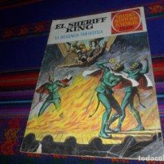 Tebeos: EL SHERIFF KING Nº 64 LA DILIGENCIA FANTASMA. BRUGUERA 1975. REGALO EL REY DEL RÍO Nº 51.. Lote 162582082