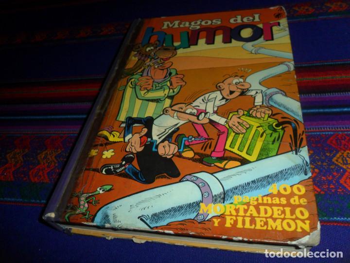 Tebeos: MAGOS DEL HUMOR Nº XV 15. BRUGUERA 1973. REGALO MAGOS DEL HUMOR Nº XX 20. BRUGUERA 1974. - Foto 5 - 162584554