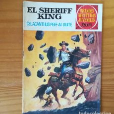 Tebeos: EL SHERIFF KING 71 CELACANTHUS PEEF AL QUITE. GRANDES AVENTURAS JUVENILES BRUGUERA 1975. Lote 162597018