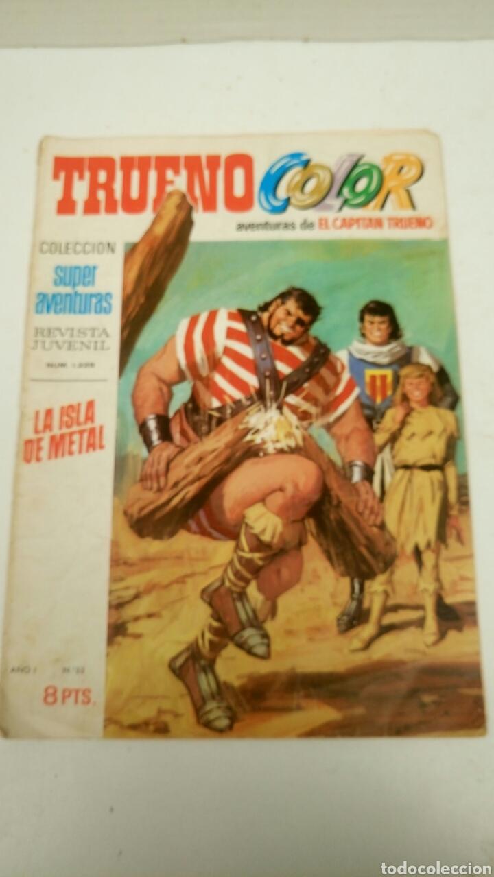 TRUENO COLOR, 53, ORIGINAL DE BRUGUERA (27-5-70) (Tebeos y Comics - Bruguera - Capitán Trueno)