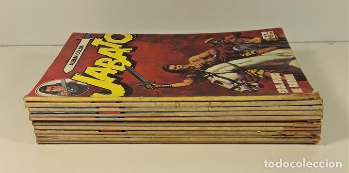 Tebeos: JABATO. 12 EJEMPLARES. EDITORIAL BRUGUERA. BARCELONA. 1980/81. - Foto 2 - 162916854