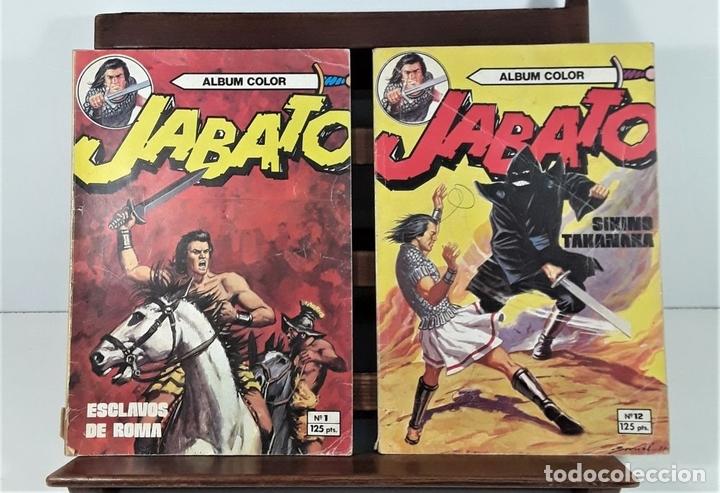 Tebeos: JABATO. 12 EJEMPLARES. EDITORIAL BRUGUERA. BARCELONA. 1980/81. - Foto 4 - 162916854
