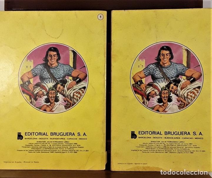 Tebeos: JABATO. 12 EJEMPLARES. EDITORIAL BRUGUERA. BARCELONA. 1980/81. - Foto 9 - 162916854