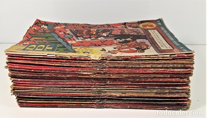 EL DDT. 90 EJEMPLARES. EDIT. BRUGUERA. BARCELONA. 1952/1958. (Tebeos y Comics - Bruguera - DDT)