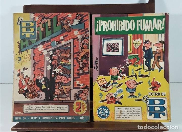 Tebeos: EL DDT. 90 EJEMPLARES. EDIT. BRUGUERA. BARCELONA. 1952/1958. - Foto 2 - 162922266