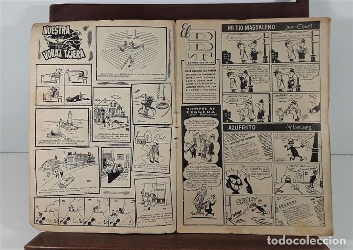 Tebeos: EL DDT. 90 EJEMPLARES. EDIT. BRUGUERA. BARCELONA. 1952/1958. - Foto 4 - 162922266