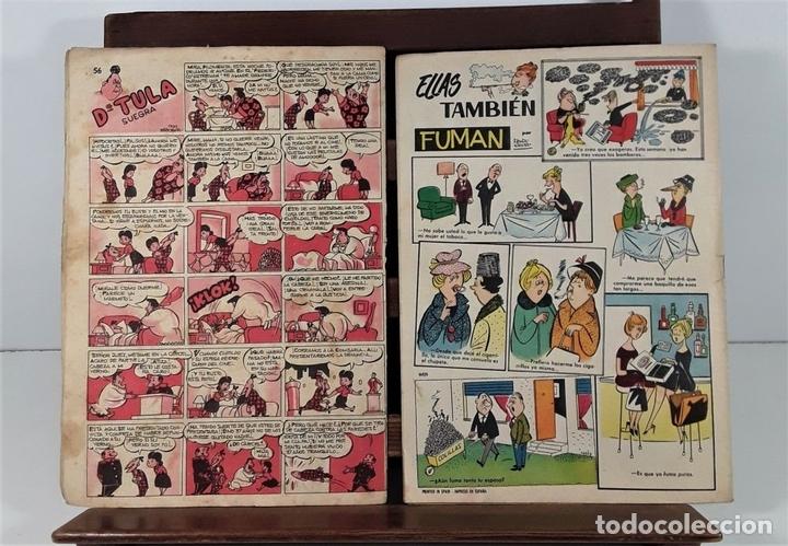 Tebeos: EL DDT. 90 EJEMPLARES. EDIT. BRUGUERA. BARCELONA. 1952/1958. - Foto 8 - 162922266