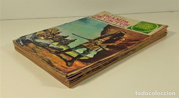 Tebeos: JOYAS LITERARIAS JUVENILES. 9 EJEMPLARES. EDIT. BRUGUERA. BARCELONA. 1974/75. - Foto 2 - 163004922