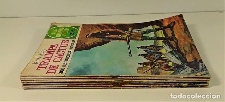 Tebeos: JOYAS LITERARIAS JUVENILES. 9 EJEMPLARES. EDIT. BRUGUERA. BARCELONA. 1974/75. - Foto 3 - 163004922