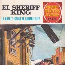 Tebeos: COMIC COLECCION SHERIFF KING Nº 16. Lote 163375378