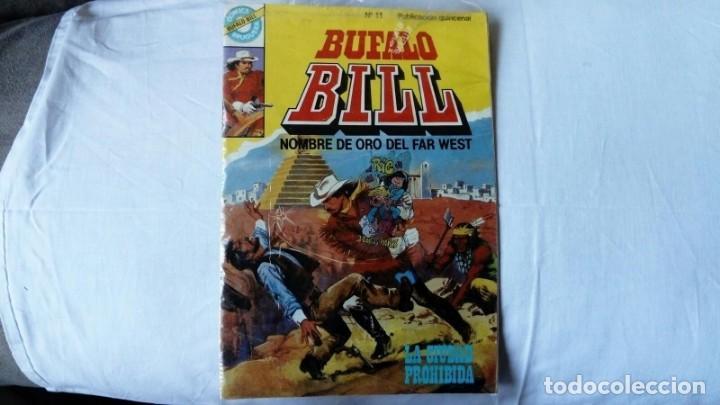 BÚFALO BILL, NOMBRE DE ORO DEL FAR WEST. N 11 (Tebeos y Comics - Bruguera - Otros)