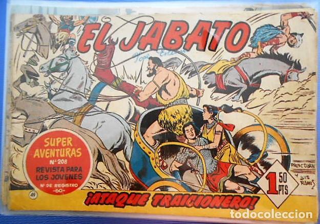 EL JABATO. Nº 49. EDITORIAL BRUGUERA. (Tebeos y Comics - Bruguera - Jabato)