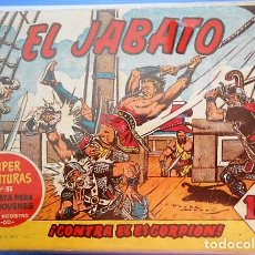 Livros de Banda Desenhada: EL JABATO. Nº 8. EDITORIAL BRUGUERA. 1958. Lote 163622894