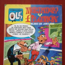Tebeos: OLE! MORTADELO Y FILEMÓN N°97. Lote 163799290