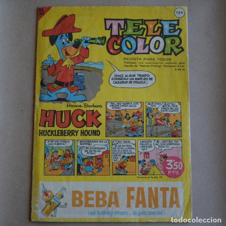 TELE COLOR, Nº 124. BRUGUERA 1962. LITERACOMIC. C2 (Tebeos y Comics - Bruguera - Tele Color)
