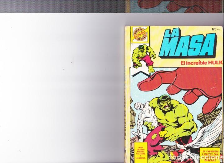 LA MASA ,EL INCREIBLE HULK Nº 26 (Tebeos y Comics - Bruguera - Otros)