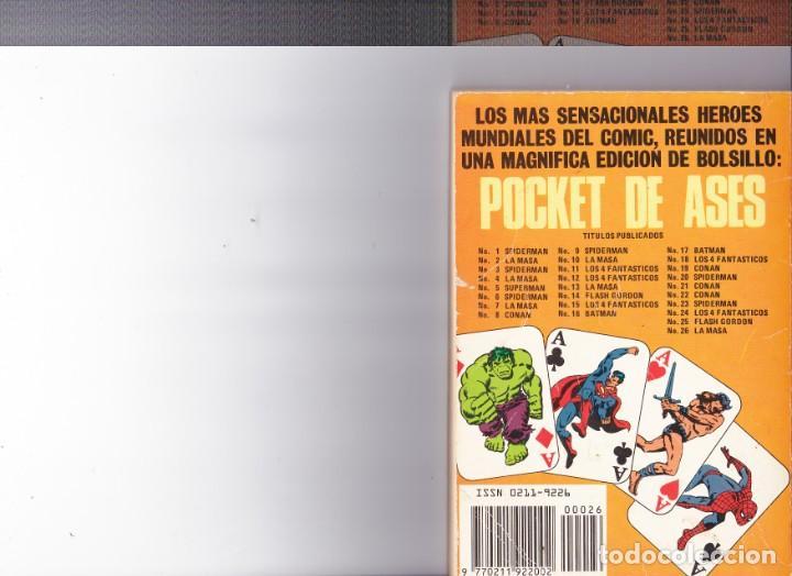Tebeos: La Masa ,el increible Hulk nº 26 - Foto 2 - 164047614