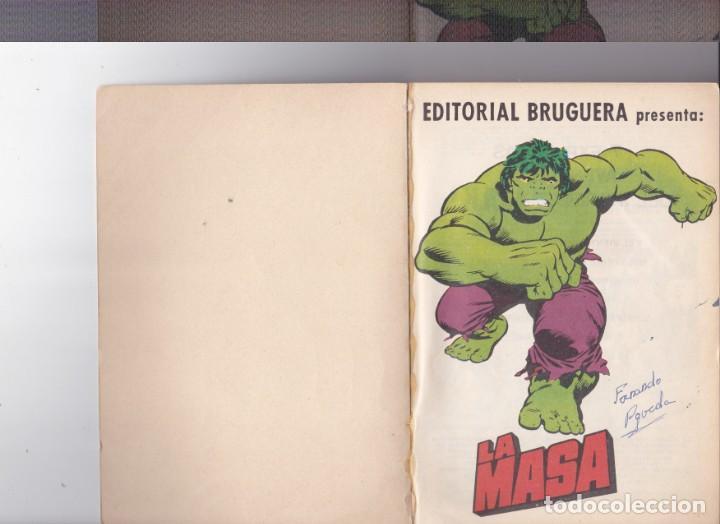 Tebeos: La Masa ,el increible Hulk nº 26 - Foto 3 - 164047614