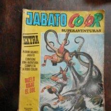 Tebeos: JABATO COLOR SUPERAVENTURAS DUELO BAJO EL SOL. VER TODAS LAS FOTOS.. Lote 164104490