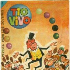 Tebeos: LOTE 20 ALMANAQUES TIOVIVO DE BRUGUERA, DE 1958 A 1977, CREO QUE SON TODOS LOS QUE SALIERON. Lote 164431894