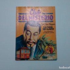 Tebeos: CLUB DEL MISTERIO - #64 - EARL DERR BIGGERS - LA CASA SIN LLAVES (CHARLIE CHAN) - BRUGUERA - 1982. Lote 164466462