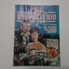 Tebeos: CLUB DEL MISTERIO - #68 - JULIAN SYMONS - ASÍ ACABÓ SALOMON GRUNDY - BRUGUERA - 1982. Lote 164468174