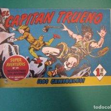 Tebeos: CAPITAN TRUENO, EL (1956, BRUGUERA) 98 · 18-VIII-1958 · LOS CANIBALES. Lote 164607090