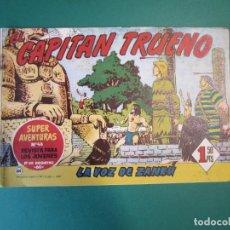 Tebeos: CAPITAN TRUENO, EL (1956, BRUGUERA) 86 · 26-V-1958 · LA VOZ DE ZANKU. Lote 164613326
