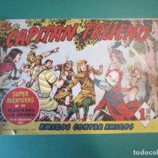 Tebeos: CAPITAN TRUENO, EL (1956, BRUGUERA) 81 · 21-IV-1958 · AMIGOS CONTRA AMIGOS. Lote 164615934