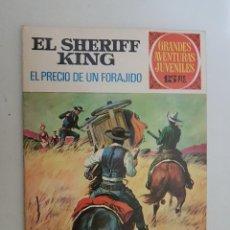 Tebeos: EL SHERIFF KING. GRANDES AVENTURAS JUVENILES. Nº 43. 1ª EDICION. BRUGUERA.. Lote 164626362