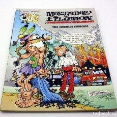 Tebeos: MORTADELO Y FILEMON Y ROMPETECHOS - TRES CEREBELOS ESTRECHOS - OLE - Nº111 - 1º EDICION - JUNIO 1995. Lote 164743014