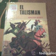 Tebeos: LIBRO DE 'HISTORIAS COLOR' DE BRUGUERA TITULADO 'EL TALISMAN'. Lote 165045234