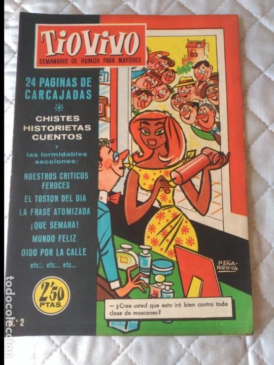 TIO VIVO Nº 2 1ª ÉPOCA BRUGUERA (Tebeos y Comics - Bruguera - Tio Vivo)